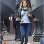 Dakota Johnson & Jamie Dornan Film 'Fifty Shades Of Grey'